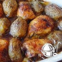 udka majonezowo- musztardowe pieczone z ziemniakami