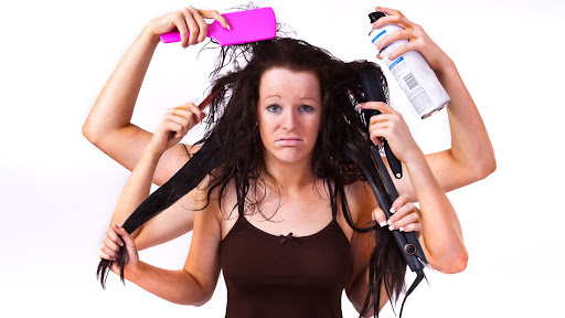 ALAMY SALE: Bad Hair Day