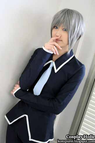 fruits basket cosplay - yuki souma