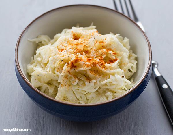 salat cole asiatischem mandeln slaw mit mit