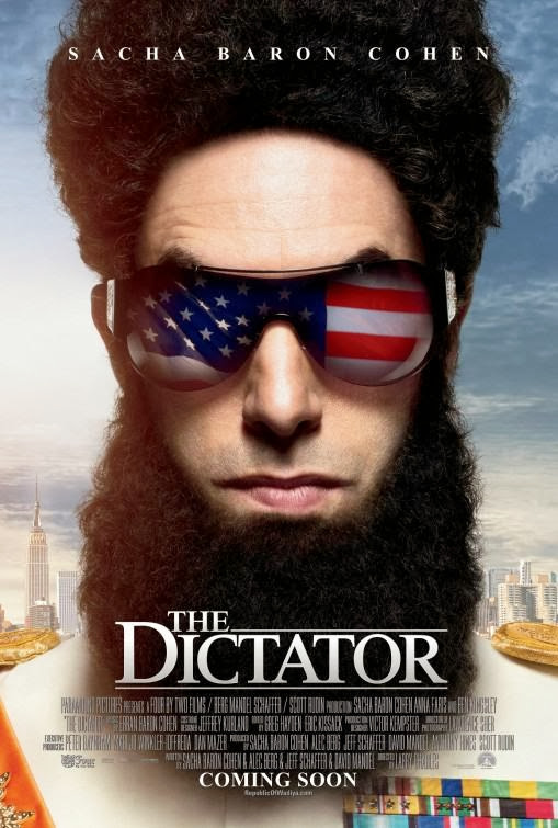Poster Of The Dictator (2012) Full Movie Hindi Dubbed Free Download Watch Online At Alldownloads4u.Com
