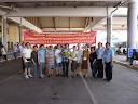 參加世界越柬寮華人團體聯合會在寮國永珍舉行的第五屆會員大會