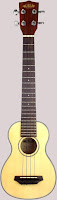 Kala Spruce Top Long Neck Acoustic Soprano (Tenor Scale)