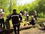 Субботник!уборка территории Захаровского парка. Май 2011