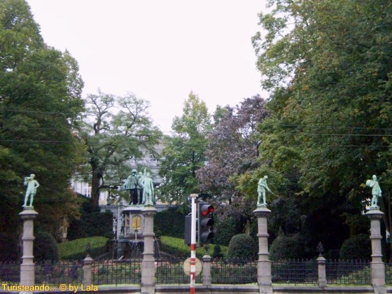 Jardines del Petit Sablon, Bruselas