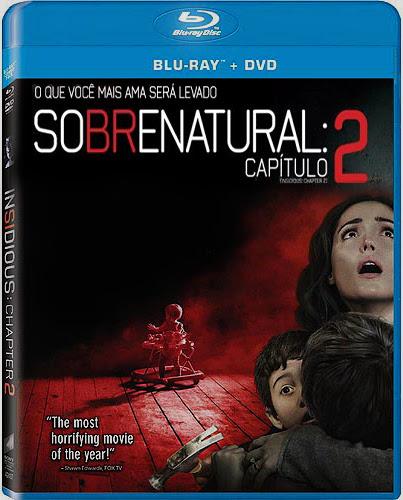 Filme Poster Sobrenatural: Capítulo 2 BDRip XviD Dual Audio & RMVB Dublado