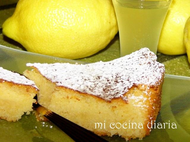 Tarta Caprese de limón (Торт Капрезе лимонный)