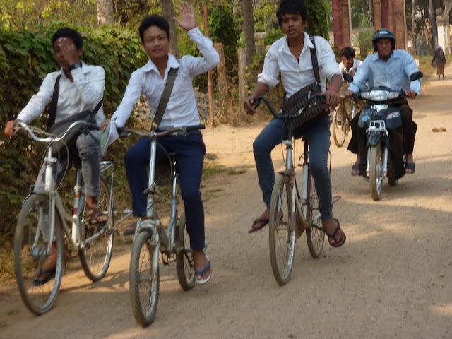 Blog de voyage-en-famille : Voyages en famille, Dans la campagne de Battambang