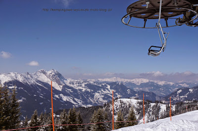 na zdjeciu stacja narciarska Großarl