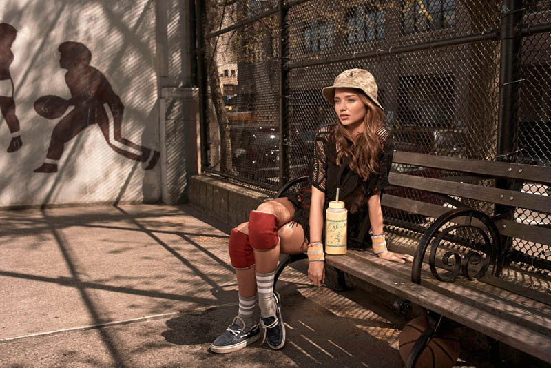 *甜心辣媽Miranda Kerr:為韓版VOGUE拍攝運動風造型錄! 5