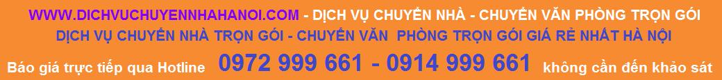 Dịch vụ chuyển nhà - Chuyển văn phòng trọn gói Phát Đạt 0972 999 661 - 0914 999 661