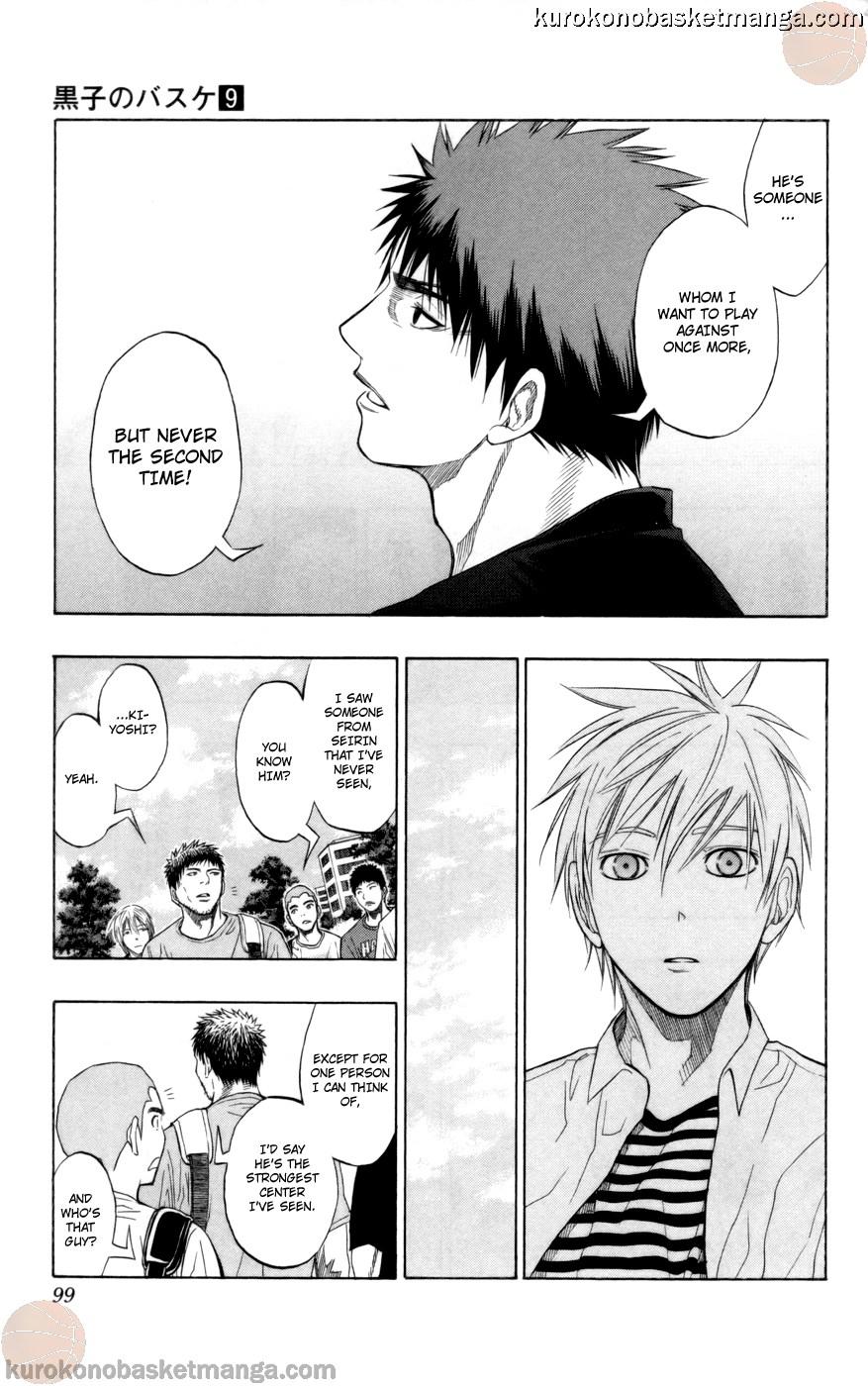 Kuroko no Basket Manga Chapter 75 - Image 13