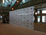 Media Wall at Roy Thompson Hall for Hope Rising Charity Event - November 7, 2012