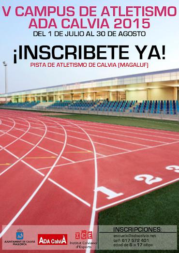 campus atletismo ADA CALVIÀ 2015