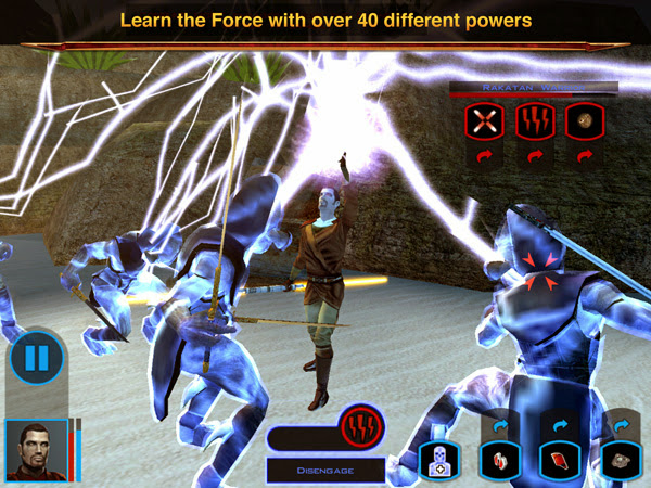 Star Wars: Knights of the Old Republic hỗ trợ iPad 3