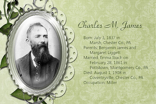 Charles M. James, Chester Co., Pennsylvania