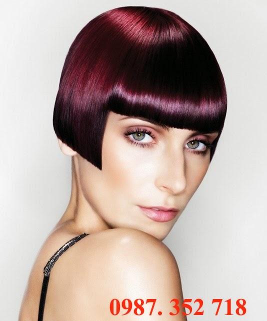 Phủ bóng tóc cao cấp rất bền màu và sáng bóng