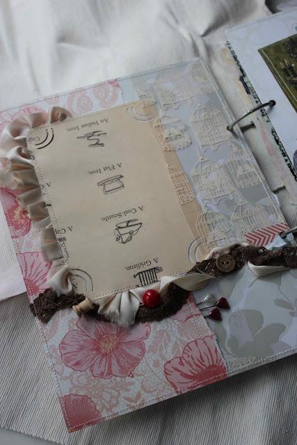 Шоколадно-вишнёвая страничка