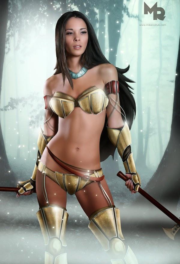 Sexy Warrior Princesses 3