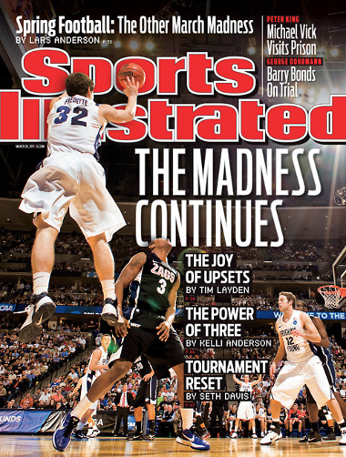 Your moment of Jimmer Fredette manlove of the day, Sports Illustrated edition