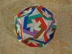 "Jasmine 2 Dodecahedron from Meenakshi Mukerji's ""Marvelous Modular Origami""."