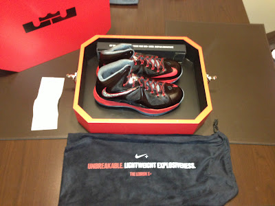 Limited Edition of Nike LeBron X+ Pressure in Special Packaging