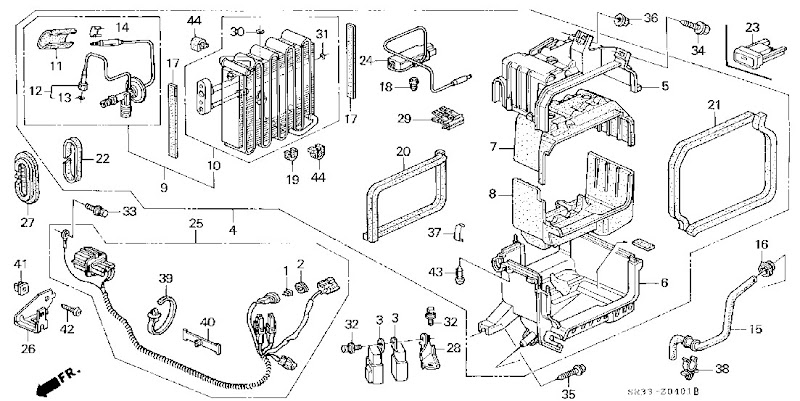 91 accord engine bay diagram  91  free engine image for
