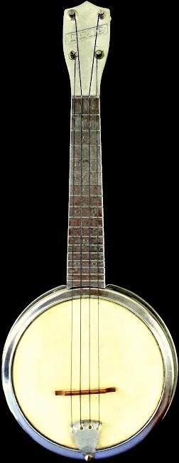 grossman Dixie aluminium banjolele banjo ukulele
