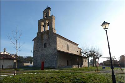 Iglesia de Oto Goien. punto de inicio