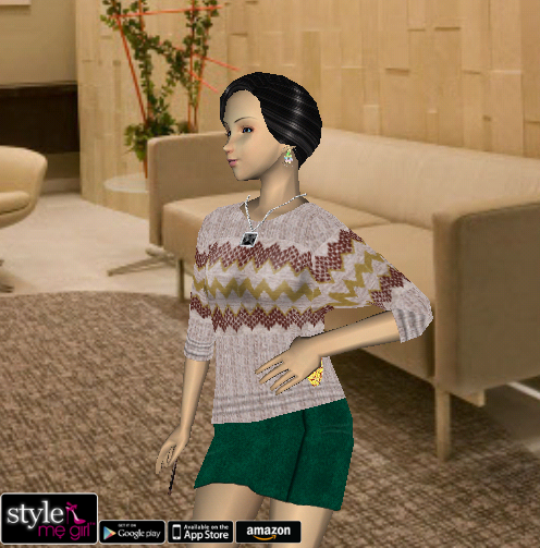 Style Me Girl Level 2 - Victoria - Office - Fuller view
