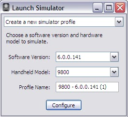 Launch_Simulator_Create_New_Simulator_Profile