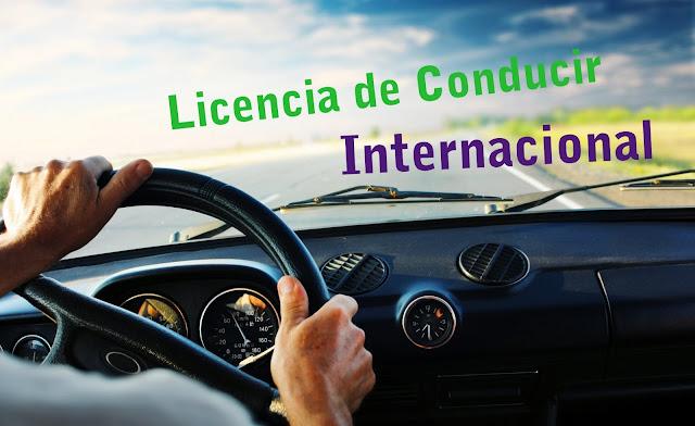 Aquí les muestro como sacar licencia internacional de conducir