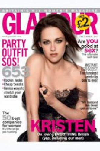 Kristen Stewart In Glamour Uk