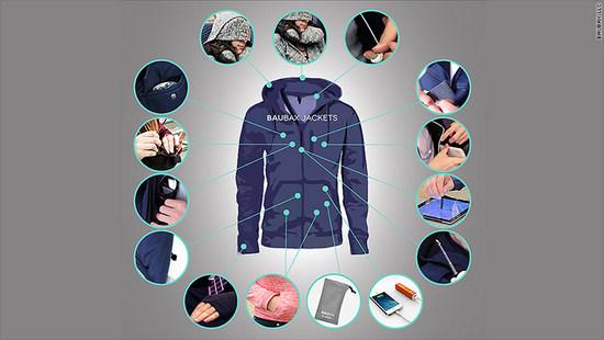 Chiếc áo khoác đa năng 15 tiện ích