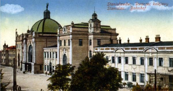 Залізнодорожний вокзал Івано-Франківська