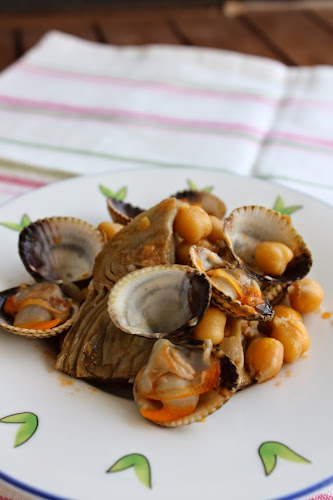 Not 2 late to craft: Cors de carxofa amb escopinyes plats nadalencs / Artichoke hearts with cockles holiday dishes