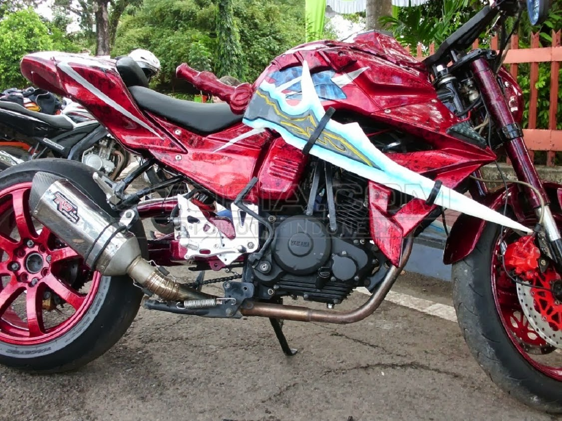 byson modifikasi touring