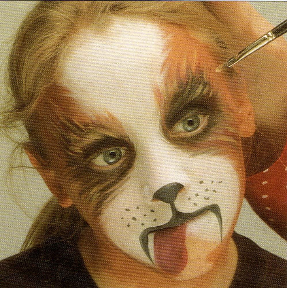 Avec pitchoun maquillage de carnaval le chien - Maquillage de sorciere facile a faire ...