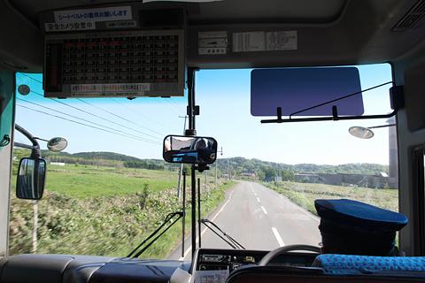 沿岸バス 豊富留萌線 羽幌・留萌へはまだまだ先・・・