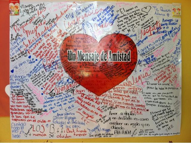 Pancartas del dia del amor y la amistad - Imagui