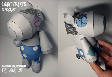 Smarty Pants Doll Papercraft