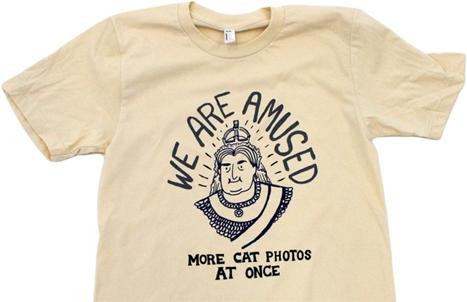 Hark a Vagrant Queen Victoria Internet shirt