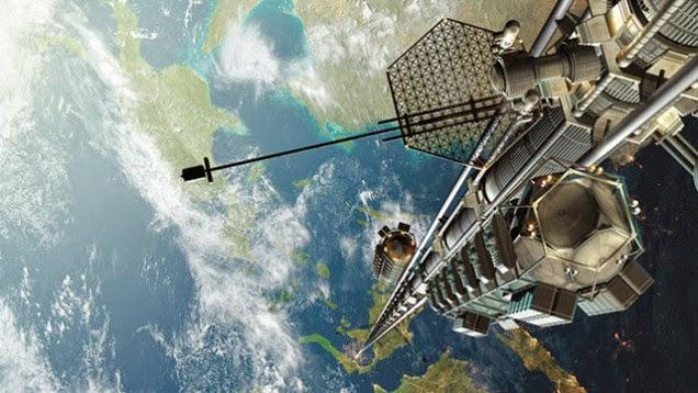 Weltraum-Fahrstuhl