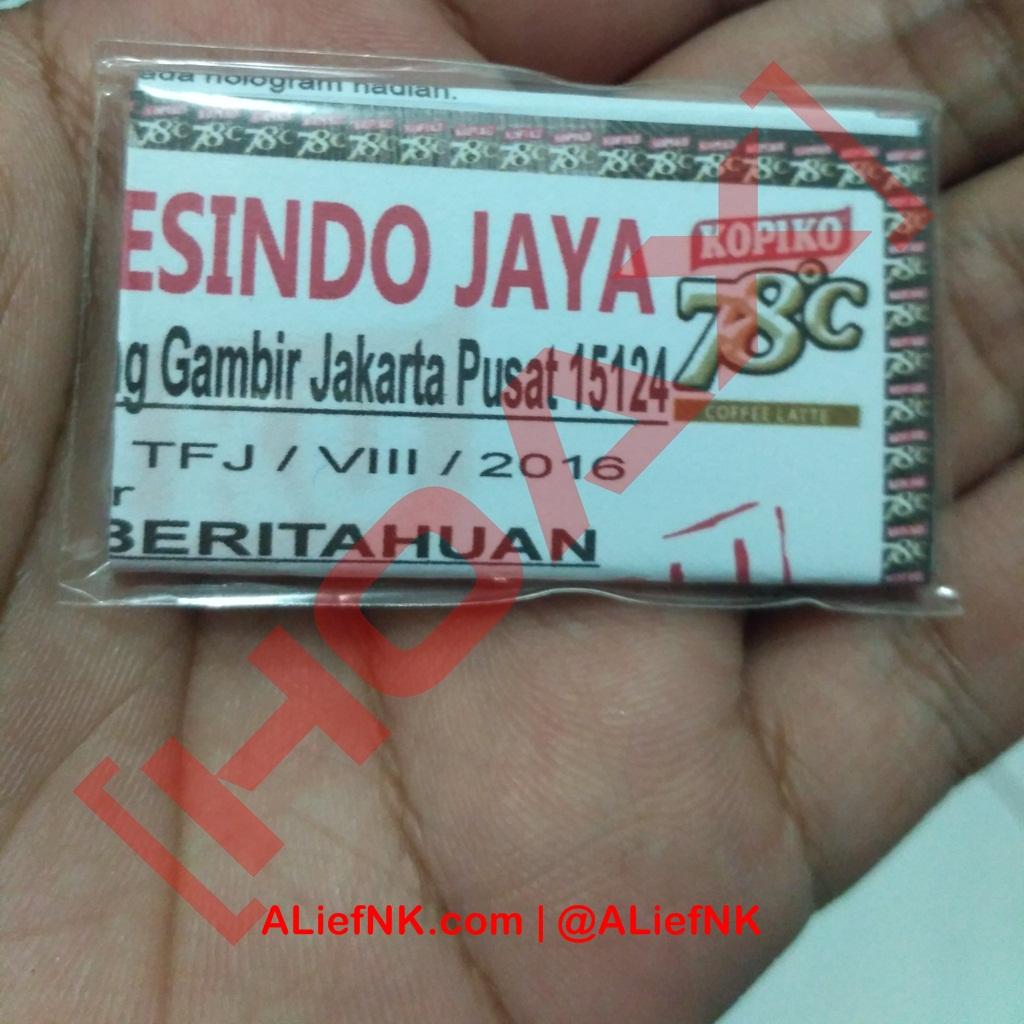 Penipuan Hadiah Langsung Kopiko 78C [image by ALiefNK.com | @ALiefNK]