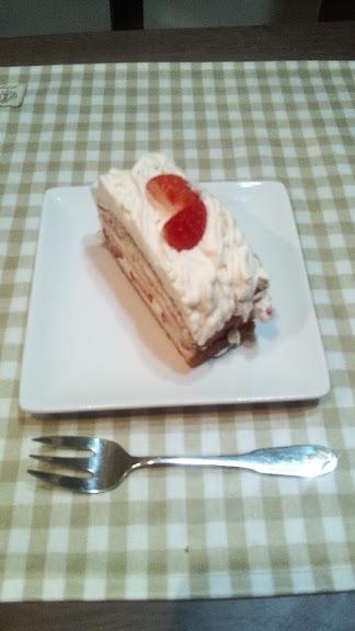 イチゴのモンブランショートケーキ