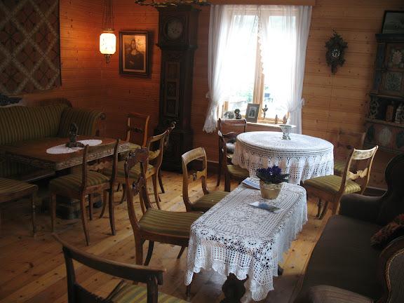 Interior de hotel en Aurland