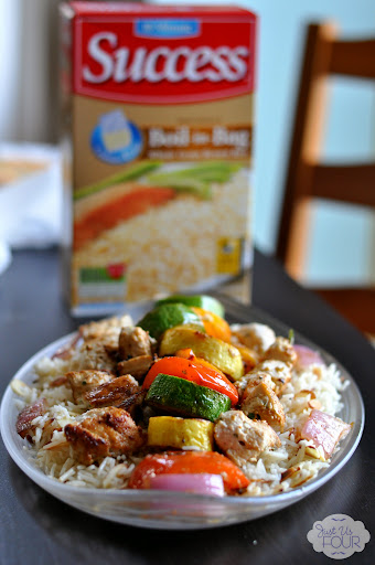 Yogurt Marinated Chicken with Almond Basmati Rice Recipe