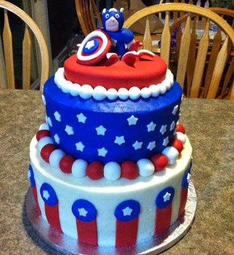 50 Best Captain America Birthday Cakes Ideas And Designs iBirthdayCake