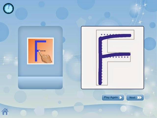 Free Tracing Apps for iPad / iPhone - Breezy Special Ed