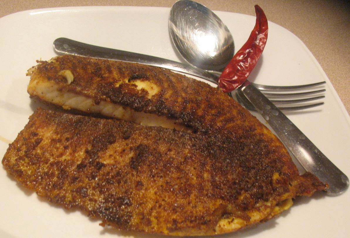 Pan fried tilapia for Fried tilapia fish